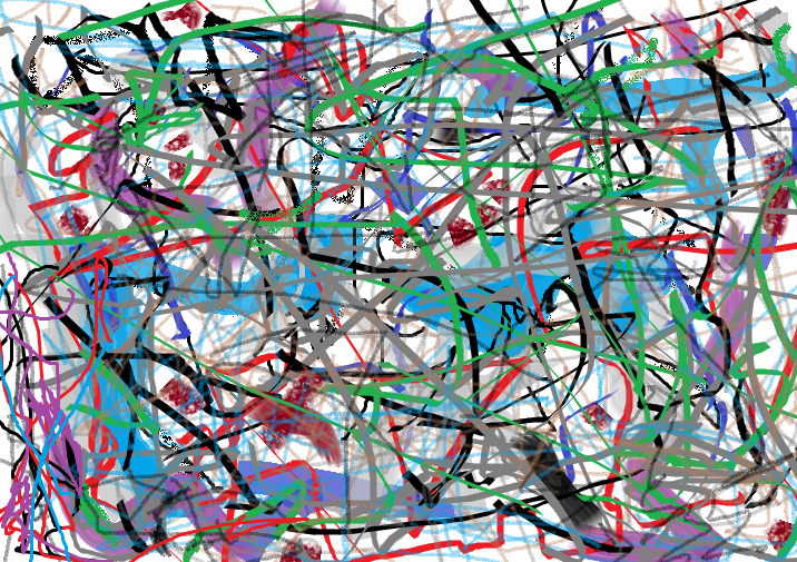 Doodle in Paint, by R.B.